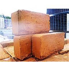 Brick red ceramic corpulent unary M-100 in