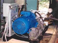 Установки водоструминні для ручного очищення або