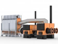 Зерносушилка ECO-TERM - 17 т/ч, модель PGD-3009.2350 - полный нагрев