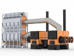 Зерносушилка ECO-TERM - 24 т/ч, модель PGD-4009.3000 - полный нагрев