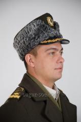 Зимняя шапка военная генерала армии с...
