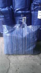 Bags, packages, bags from the polypropylene film