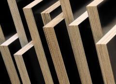 The plywood laminated, the plywood laminated to