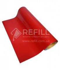 Термотрансферная PU пленка SMTF красная 51см х