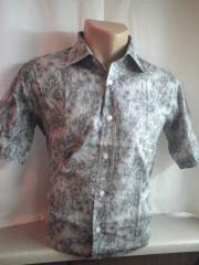 Рубашка приталеная
