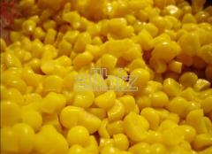 Tinned sweet corn