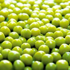 Peas tinned not frozen