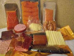 Вакуумный пакет для рыбы, мяса, сыра.