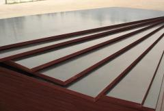 Plywood waterproof polished from two parties to