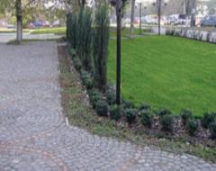 Тротуарная брусчатка гранитная, брусчатка из габбро