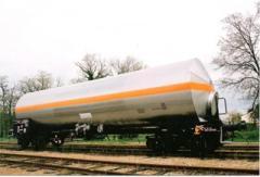 Железнодорожные цистерны (химические, пищевые и