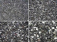Crushed stone granite, all fraction in assortment,