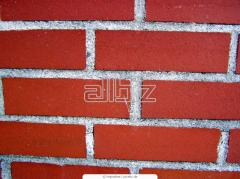 The brick is red