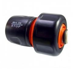 Коннектор 3/4 внутренняя резьба с клапаном SLD 041 (заказ кратно упаковке 10шт)