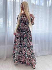 Платье летнее длинное S 44р