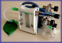 The device of inhalation anesthesia ANPSP-01 -