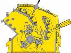 Production of rotor plates (shovels) of vacuum