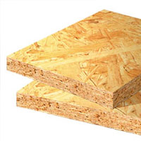 Плиты древесностружечные OSB-3 влагостойкая.
