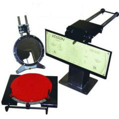 Лазерный стенд для проверки установки колес