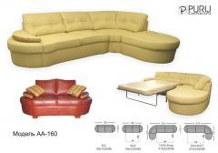 Предлагаем мягкую мебель, обивка выполнена из