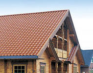 Duo-pitch roof in Chernihiv