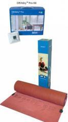 Heating mats and temperature regulators for