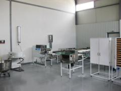 Equipment for the production of thin Armenian