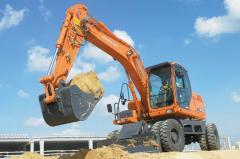 Excavator wheel DOOSAN DX 140 W