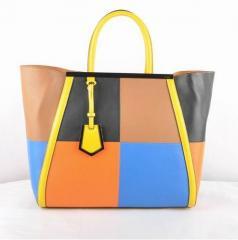 Leather Fendi bag