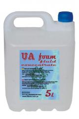 Liquid for gas station of generators of UA foam