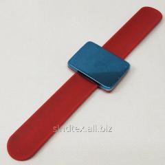 Магнитная игольница на (руку) запястье Sindtex красная (СИНДТЕКС-0776-1)