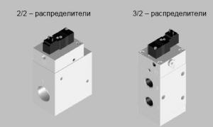 2/2 and 2/3 BMEH distributors - 3x2/2-22-5-SA.