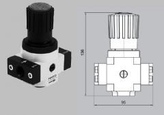 Регулятор высокого давления LR-1/2-D-20-MIDI-HD-SA  Заказной номер 230 726а