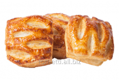"Product from puff yeast dough ""Pass with"