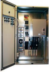 Шкаф управления Фесто насосной станцией