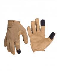 Перчатки Mil-Tec боевые сенсорные (Dark...