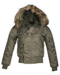 Куртка лётная N2B США Mil-Tec (Аляска) (Olive)