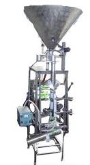 Automatic packing semiautomatic device with the