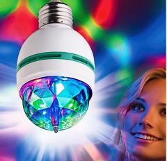 Диско лампа LASER Rotating Lamp вращающаяся