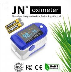 Пульсоксиметр JN на палец с индексом перфузии.