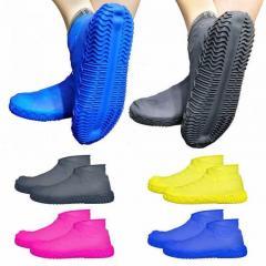 Силиконовые чехлы бахилы для обуви от дождя и
