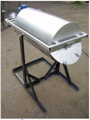 Brazier for frying of sunflower seeds electric