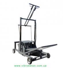 The mobile machine for shlakobloka-BLOK-MAShINA-2