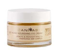 Anti-aging nourishing eye cream with Pantrofina