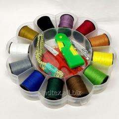 Походный набор в органайзере для шитья и ремонта одежды (657-Л-0272-1)