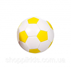 Мяч футбольный BT-FB-0229 PVC размер 2 (Жёлтый)