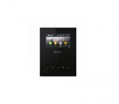 IP домофон BAS-IP AU-04LA механічні кнопки BLACK