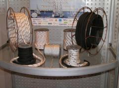 Rope wattled kapron Cord