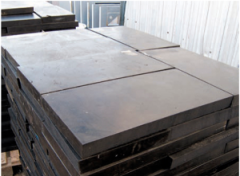 Technical plate of MBS, TMKShch 10-50 of mm (GOST