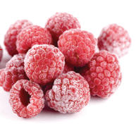 The raspberry frozen by wholesale. Raspberry. The